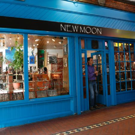 George's Street Arcade: New Moon unique silver jewellery shop