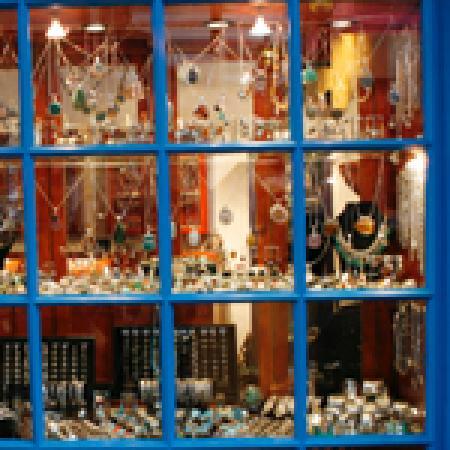 George's Street Arcade: New Moon Jewellery main window