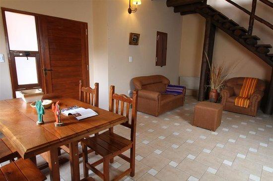 Mirador del Virrey, Cabanas Boutique: Living Cabaña Cuadruple 1 habitacion