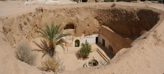 Matmata, Tunisia: Höhlenwohnung