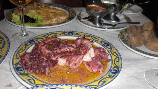 Restaurante Aristides: pulpo