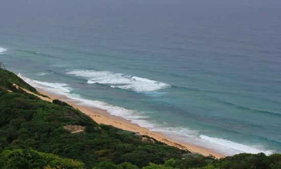 Ponta do Ouro, Mozambique: Ponta d'Ouro from the hills