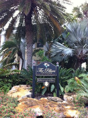 The Pillars Hotel Fort Lauderdale: Blick auf Hotel