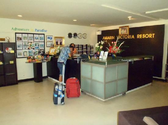 Amarin Samui Hotel: Reception Area