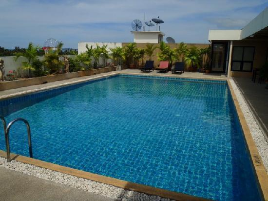 Amarin Samui Hotel: Swimming Pool on the rooftop.