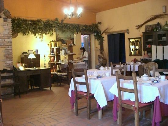 Hotel Rural La Llosa de Fombona: comedor,