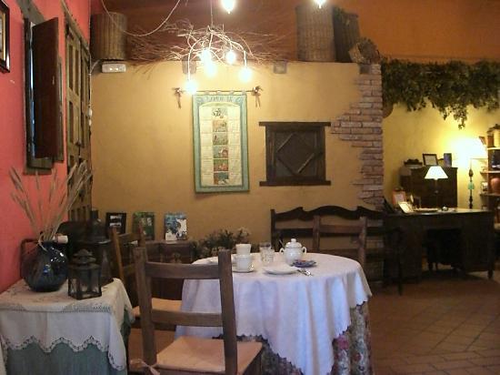 Hotel Rural La Llosa de Fombona: sala comedor
