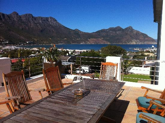 Hout Bay View: view from the main terrace
