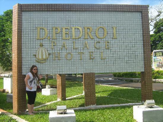 Dom Pedro I Palace Hotel: entrada principal