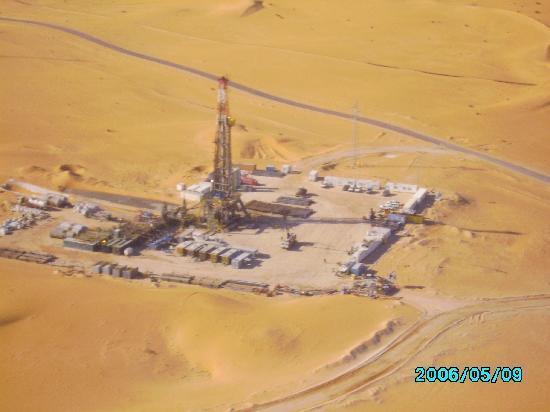 Algerian Sahara: RIG 5832 SAIPEM