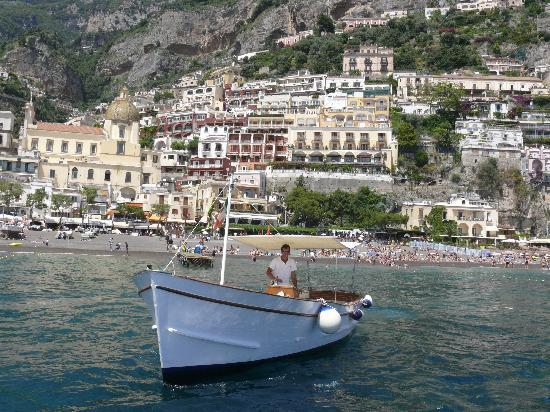 Hotel Palazzo Murat: Our Boat for daily excursion