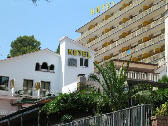 Hotel Can Fisa: Fachada frontal