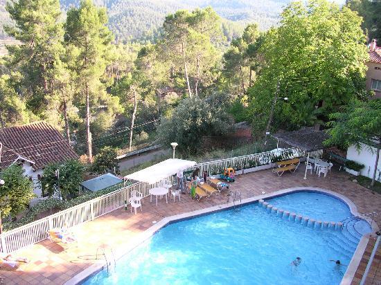 Hotel Can Fisa: Vista piscina desde habitación