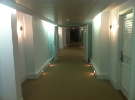Malmaison Brighton: the hallway