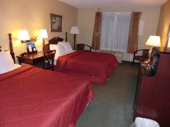 Comfort Inn at the Park : Zimmer