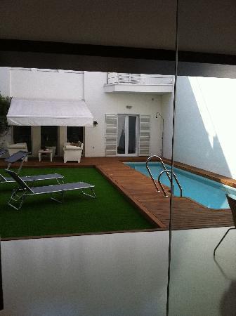 Hotel Boutique Alcoba: Jardín