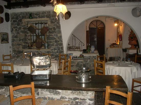 A Massaria: One of the dining areas at A Masseria