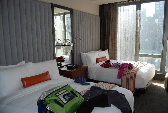 Kimpton Hotel Eventi: Our 2 queen room at The Eventi