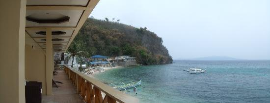 La Laguna Beach Club & Dive Centre: the view from our beach front room
