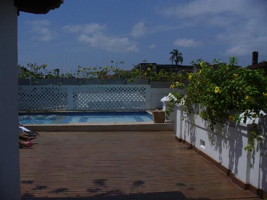 Casa Canabal Hotel Boutique : la terraza y la piscina