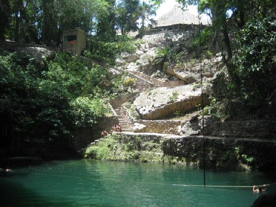 Cenote Zaci in Valladolid