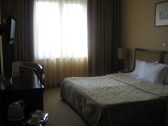 Minsk Hotel: On entering the room