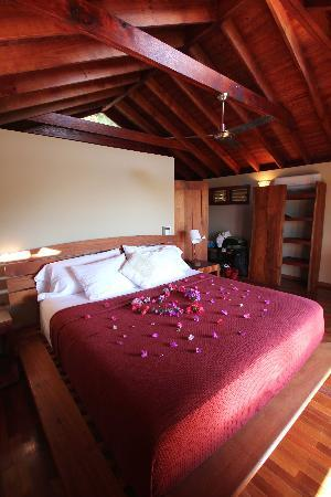 Aqua Wellness Resort: Surprise decor for our honeymoon!