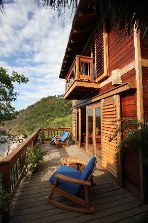 Aqua Wellness Resort: Front of our villa.