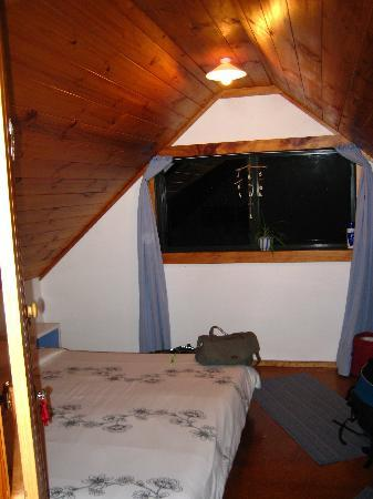 Wainui Lodge: One of two private double rooms