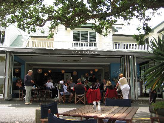 The Wharf - Restaurant & Bar : Kamakura open-air seating