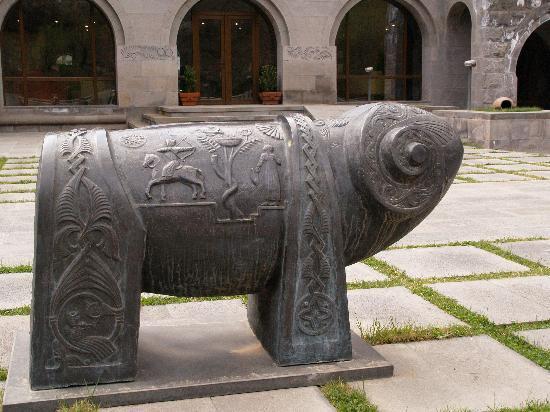 Dzoraget, Arménie : décor historique modernisé
