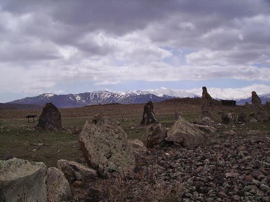 Sisian, Armenien: alignements mégalithique
