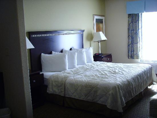 Magnolia Inn & Suites Pooler: Unser Zimmer