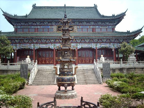 Gaoan, Chiny: gao'an - temple