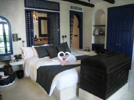 Villa Maroc: our room