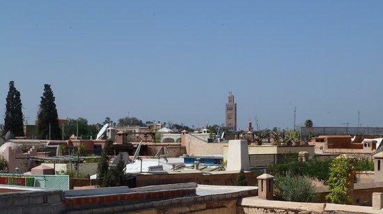 Riad Dar Tiflet: dar tiflet vue terrasse