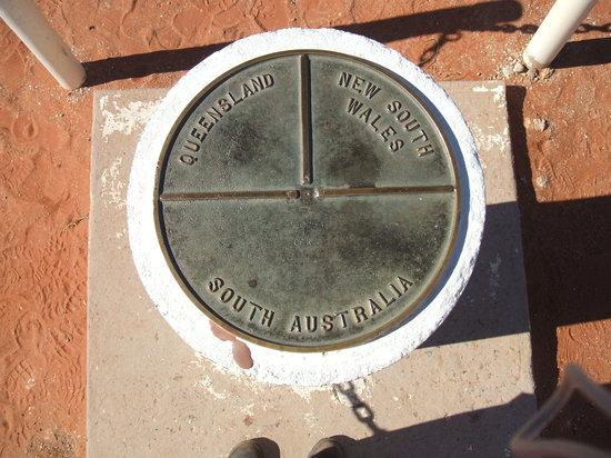 Australia Meridionale, Australia: Cameron Corner Marker