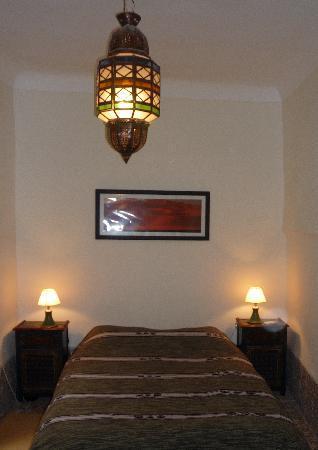 Riad Dar Tiflet: dar tiflet chambre verte