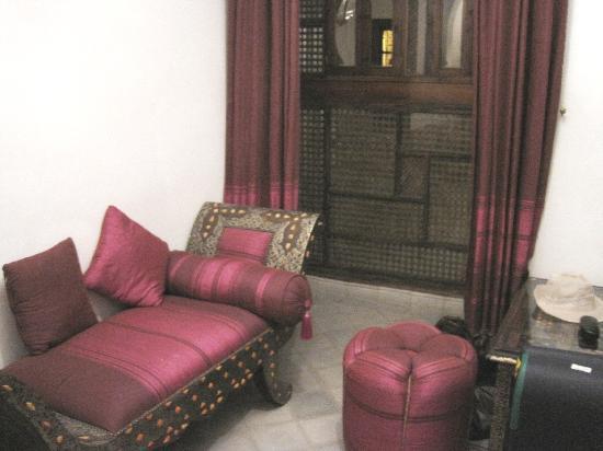 Riad Nerja: sultane room