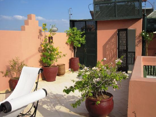 Riad Nerja: roof terrace