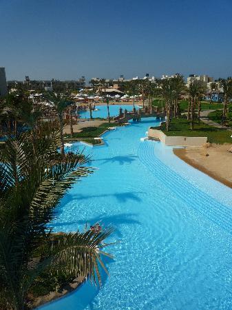 Siva Port Ghalib : Le lagon (mer salée)