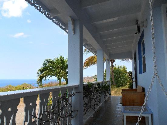 Montserrate: The verandah