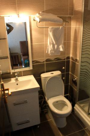 Galata Istanbul Hotel: bagno