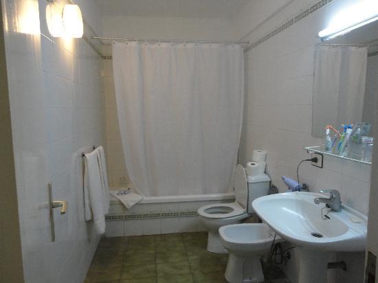 Los Alisios: salle de bains