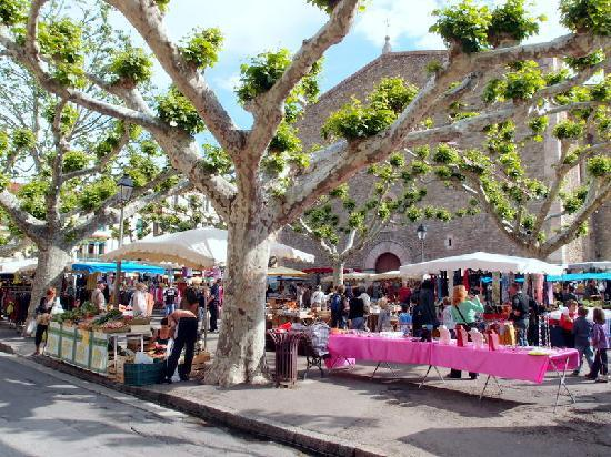 Villa Lafabregue: market day in Prades