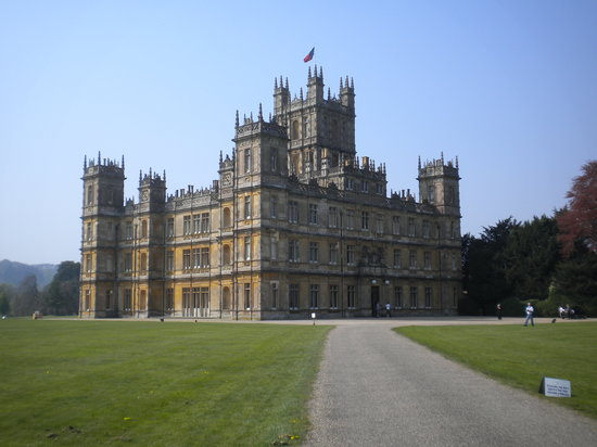 Newbury, UK : Highclere Castle