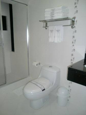 Habitat Hotel: バスルーム
