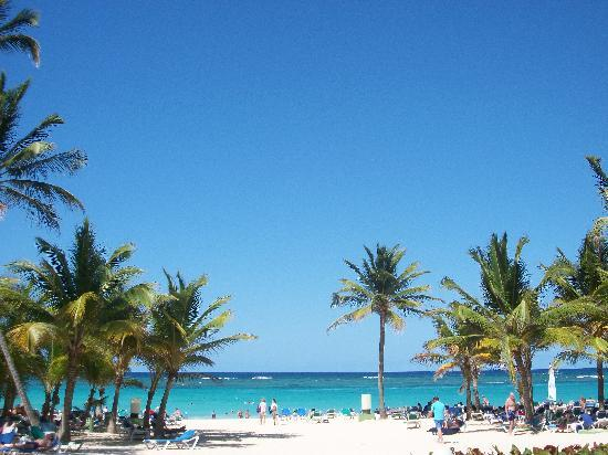 Hotel Riu Palace Punta Cana: Nice beach