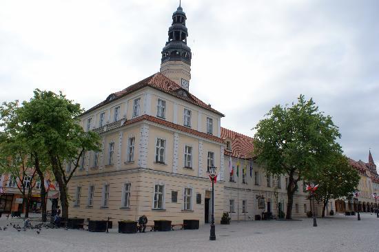 Zielona Gora, Polen: rathaus