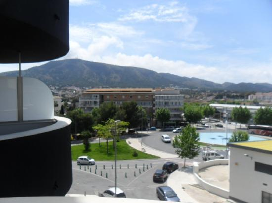 Albir Playa Hotel & Spa: view from our balcony